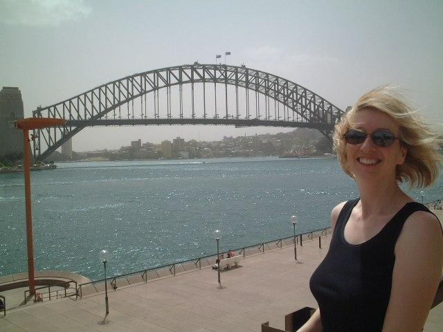 J and the Sydney Harbour Bridge 23 Oct 2002