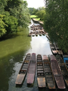 Punts at the end of the afternoon