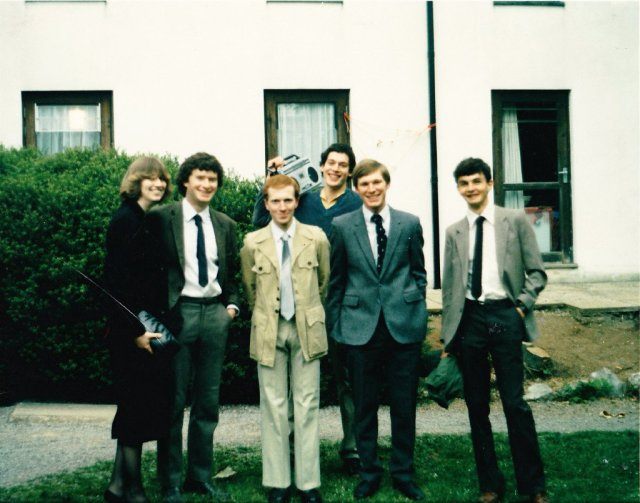 Sinclair House people 1985