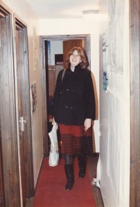 J arriving at Sinclair House probably early 1985