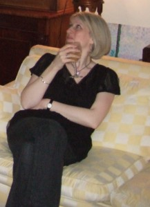 Party girl, NYE 31 Dec 2008