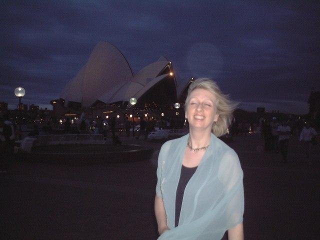 Happy J, at the Sydney Opera House, 2005
