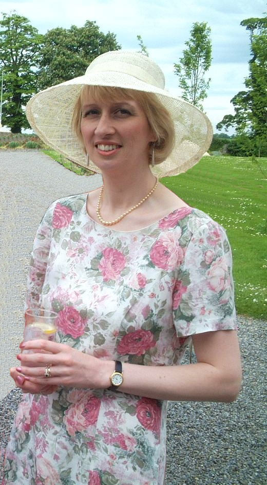 J at a wedding in Ireland, 26 May 2001